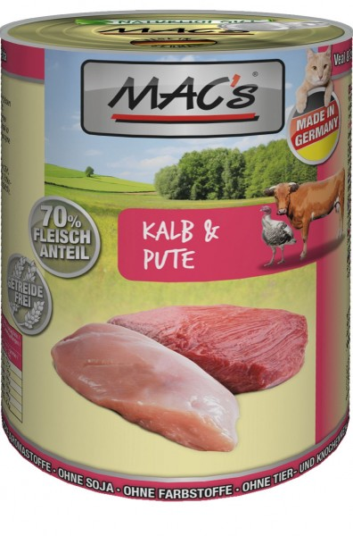 MACs Cat Kalb & Pute 400g