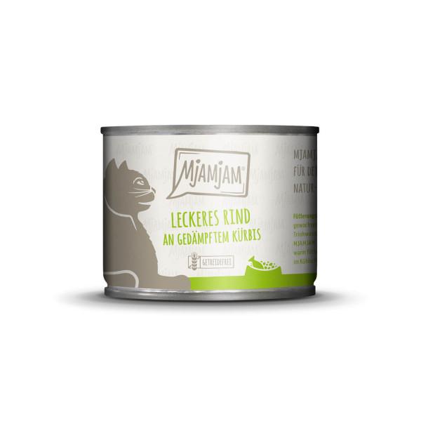 MjAMjAM - leckeres Rind an gedämpftem Kürbis 200 g