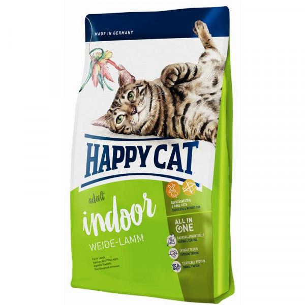 Happy Cat Supreme Indoor Weide-Lamm 4 kg