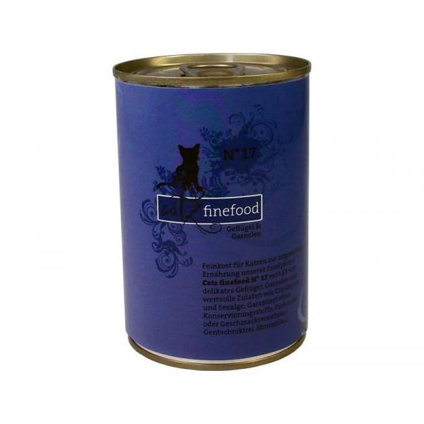 Catz finefood No. 17 Geflügel & Garnele 400g