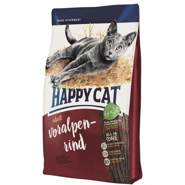 Happy Cat Supreme Voralpen-Rind 1,4 kg