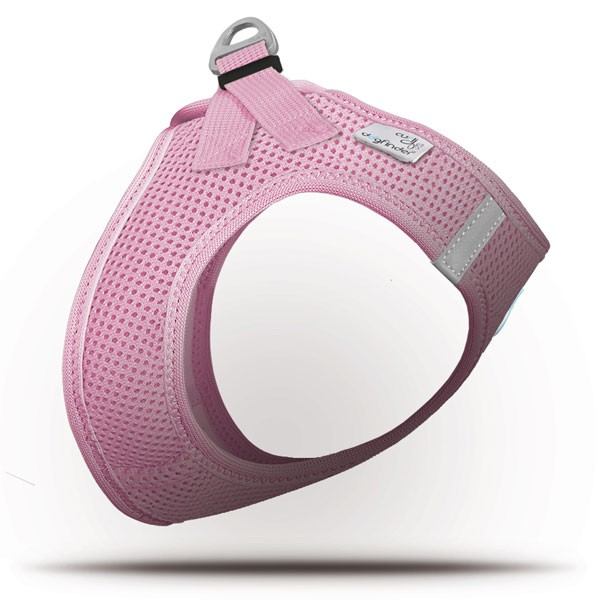 Curli Vest Geschirr Air-Mesh Pink S