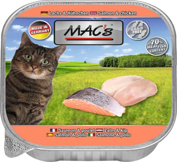 MACs Cat Lachs & Hühnchen 85g