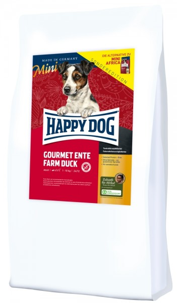 Happy Dog Supreme Sensible Mini Gourmet Ente 4kg