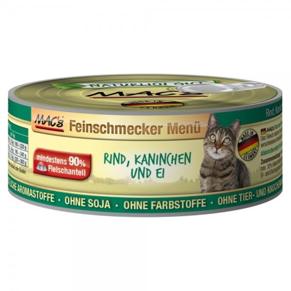 Macs Cat Rind-Kaninchen 100gD