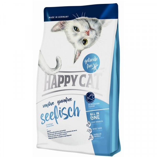 Happy Cat Sensitive Grainfree Seefisch 300 g