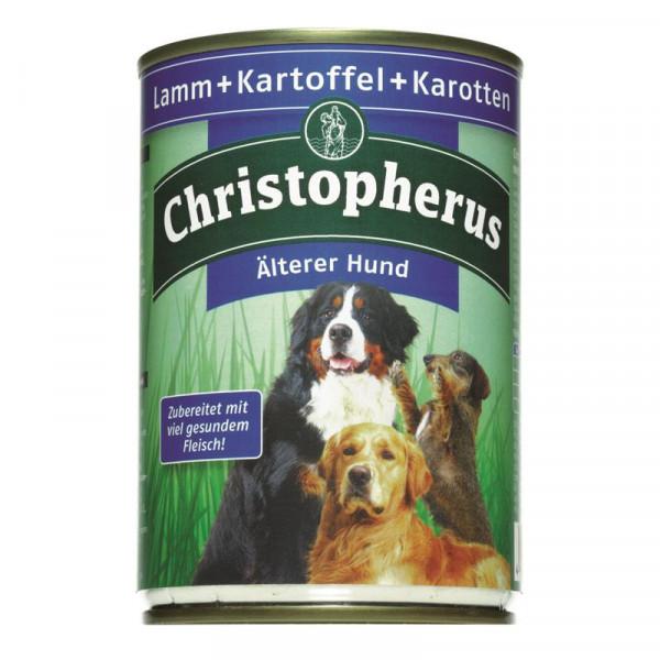 Christopherus Dose Älterer Hund Lamm, Kartoffeln & Karotten 400g