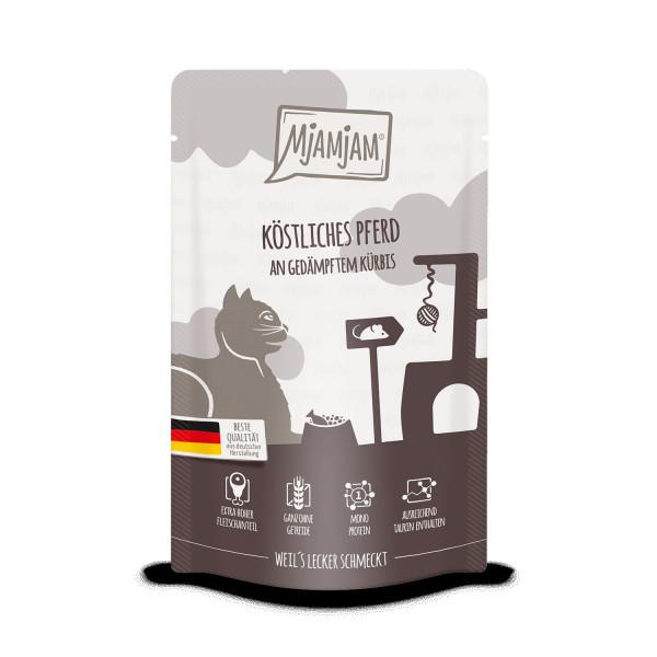 MjAMjAM - Quetschie - köstliches Pferd an gedämpftem Kürbis 125 g