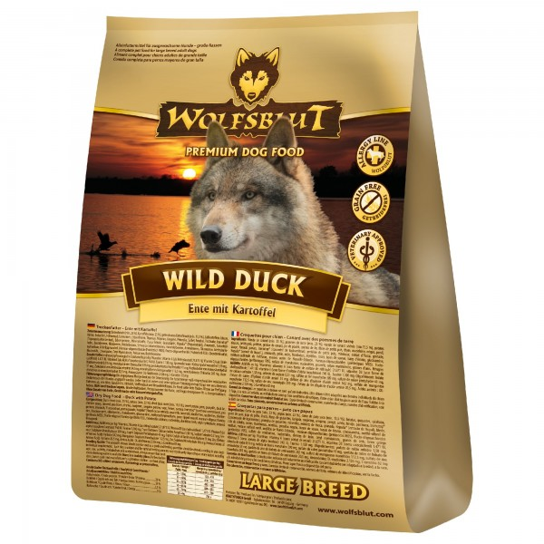 Wolfsblut Wild Duck Large Breed 15kg