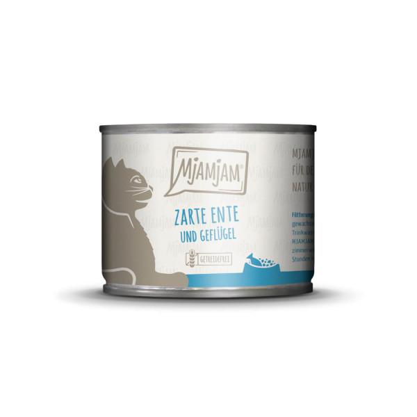 MjAMjAM - zarte Ente & Geflügel an leckeren Möhrchen 200 g