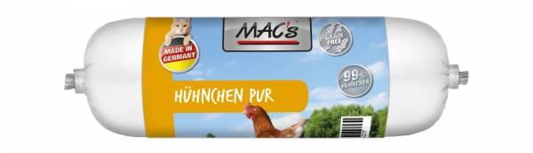 Macs Cat Wurst Huhn pur 100g