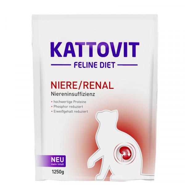 Kattovit Feline Diet Niere/Renal 1250g