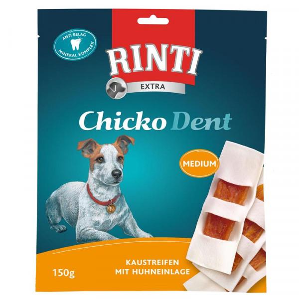 Rinti Extra Chicko Dent Huhn Medium 150g