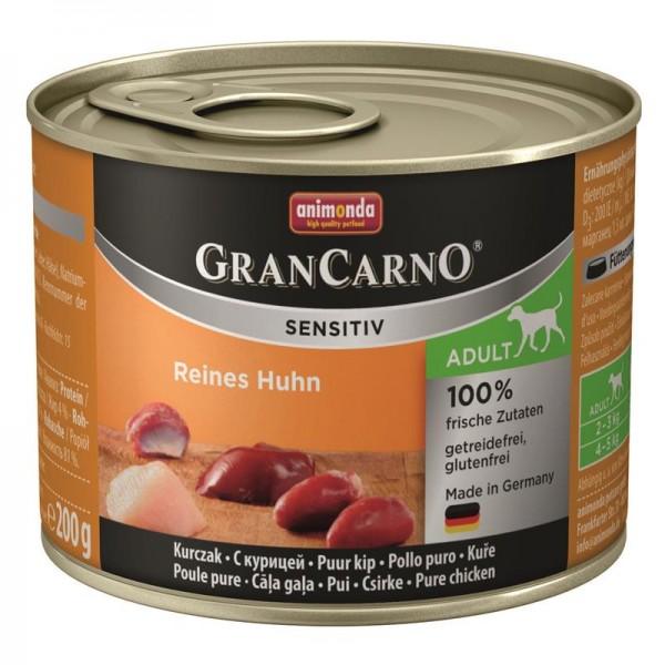 Animonda GranCarno Adult Sensitive Huhn pur 200g