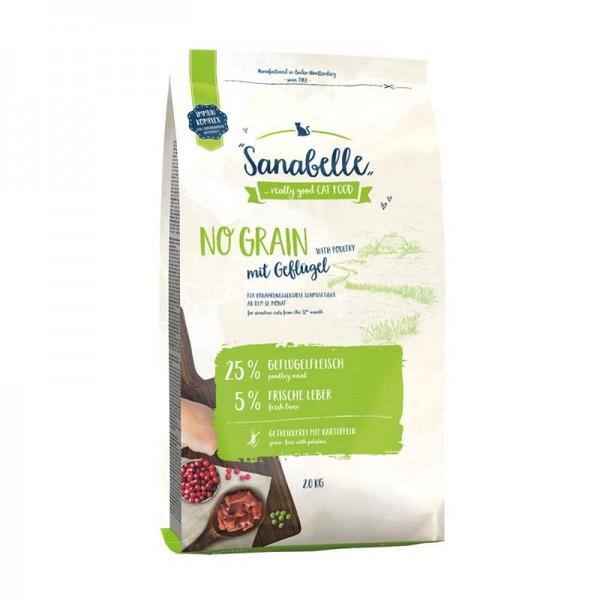 Sanabelle No Grain Geflügel 2 kg