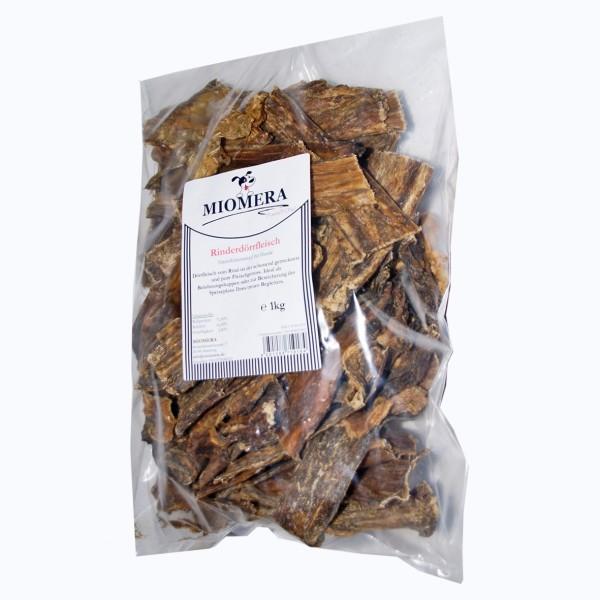 MIOMERA Dog Snack Rinderdörrfleisch 1kg