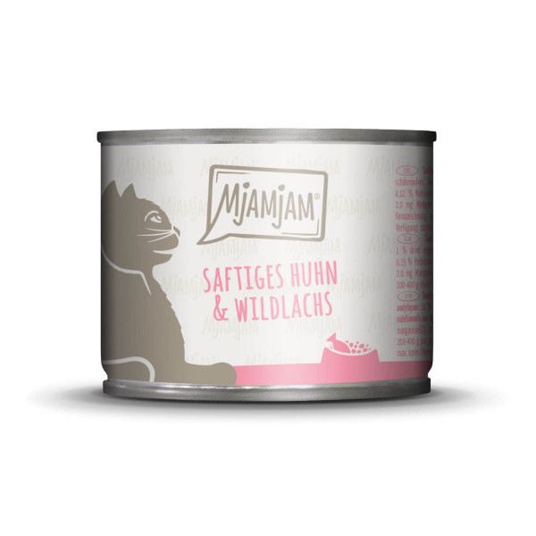 MjAMjAM - saftiges Huhn & Wildlachs 200 g