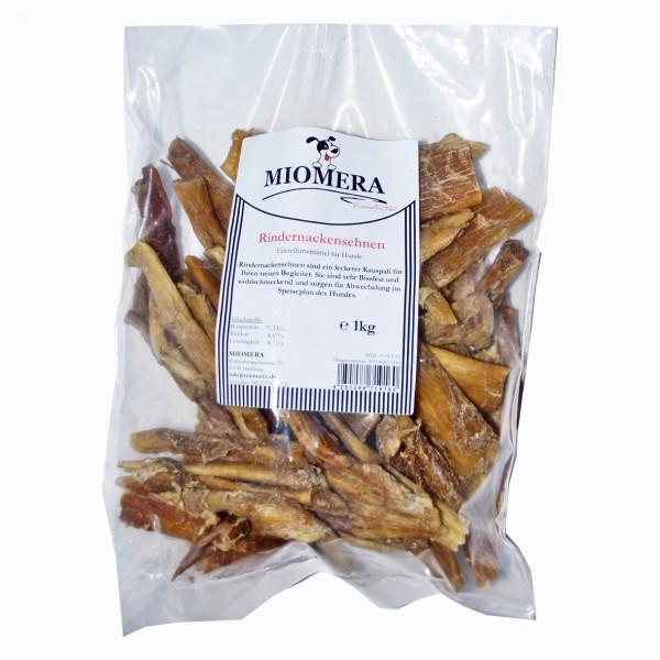 MIOMERA Dog Snack Rindernackensehnen 1kg