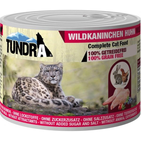 Tundra Cat Wildkanin+Huhn200g