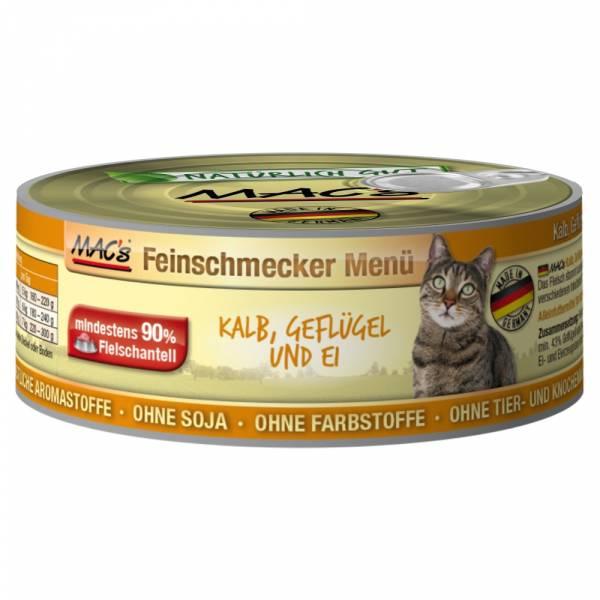 Macs Cat Kalb-Geflügl-Ei 100g