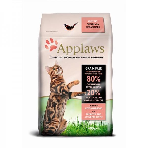 Applaws Cat Trockenfutter mit Hühnchen & Lachs 400g
