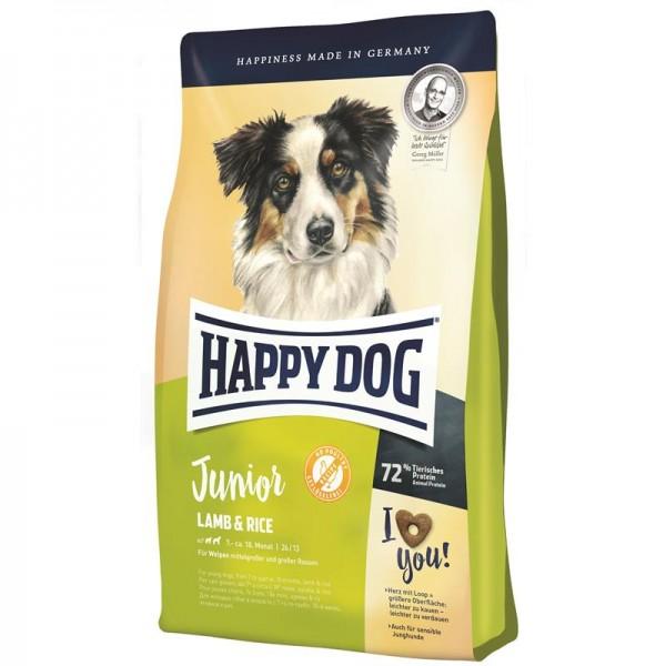 Happy Dog Supreme Sensible Young Junior Lamm & Reis 2x10kg