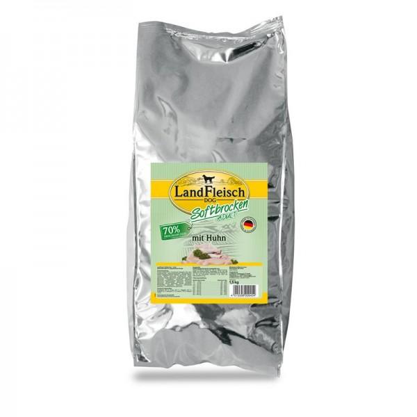 Landfleisch Dog Softbrocken mit Huhn 1,5kg