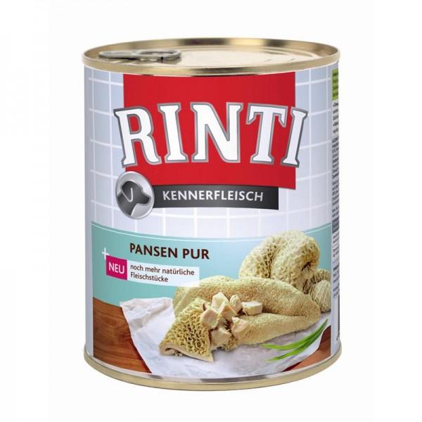 Rinti Dose Kennerfleisch Pansen 800g