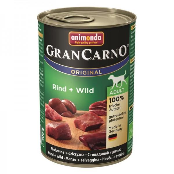 Animonda GranCarno Adult Rind & Wild 400g