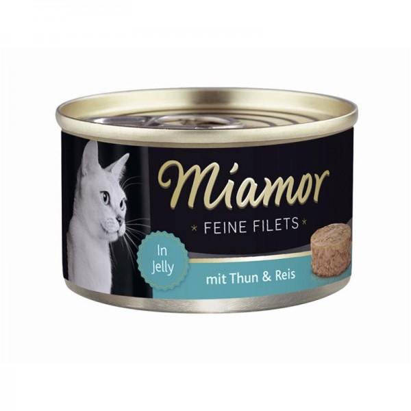 Miamor Dose Feine Filets Heller Thunfisch & Reis 100g