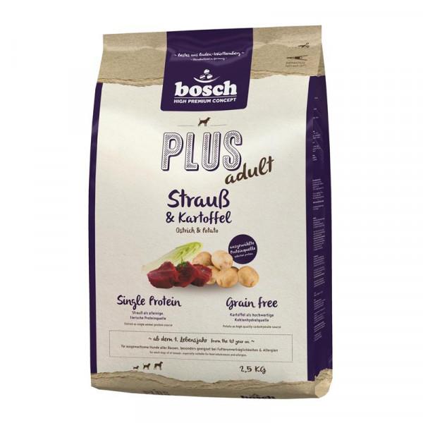 Bosch PLUS Strauß & Kartoffel 2,5 kg
