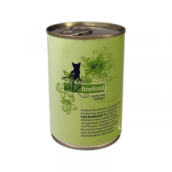 Catz finefood No. 5 Lachs 400g