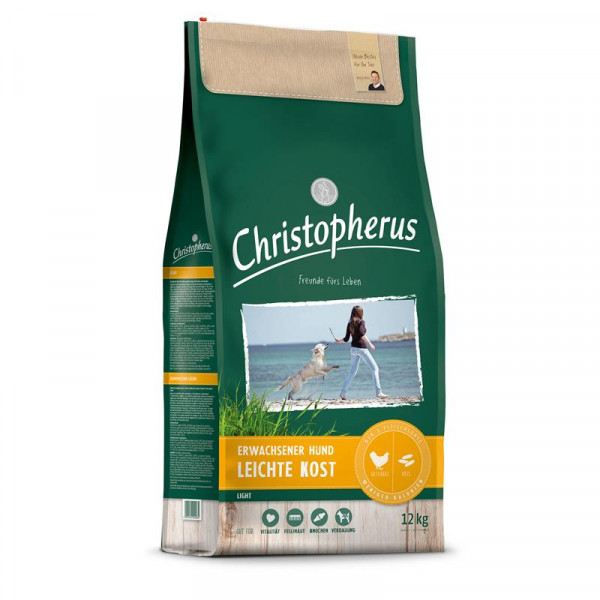 Christopherus Leichte Kost Geflügel, Reis & Gerste 2 x 12kg Spardoppelpack