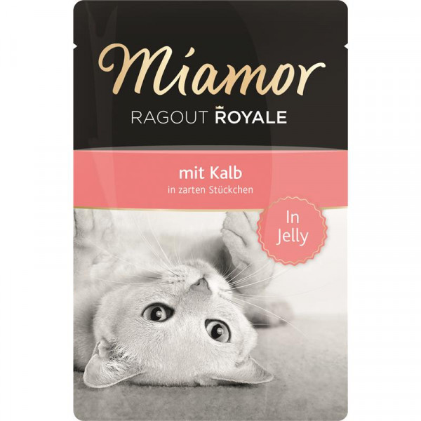Miamor FB Ragout Royale in Jelly Kalb 100g