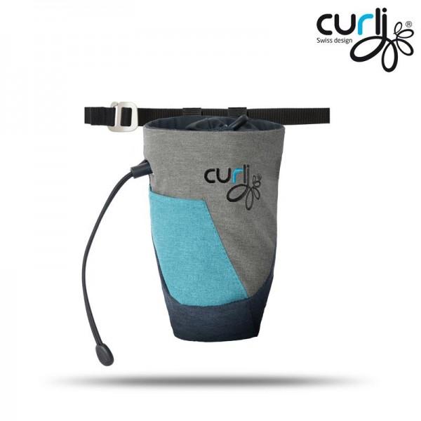 Curli Futterbeutel V2 Scuba-gray