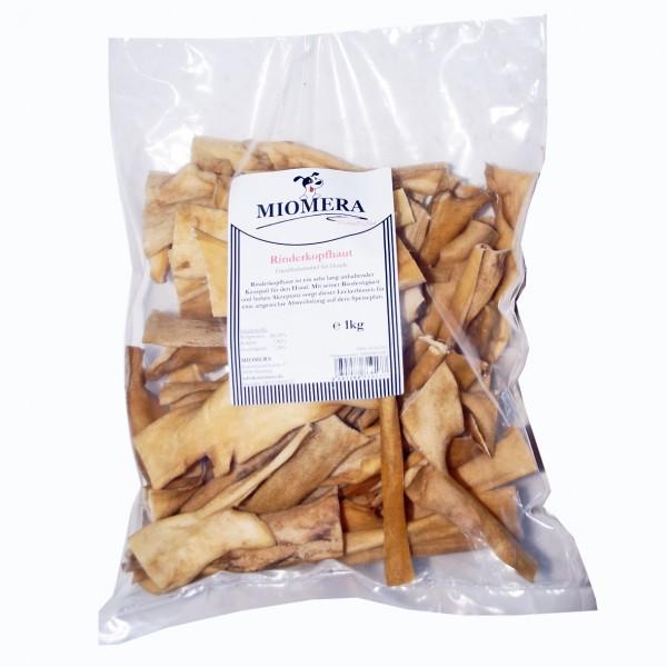 MIOMERA Dog Snack Rinderkopfhaut 1kg