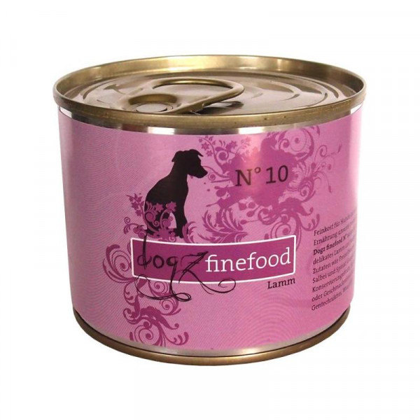 Dogz finefood Dose No. 10 Lamm 200g