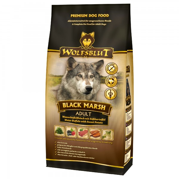 Wolfsblut Black Marsh Adult 15kg