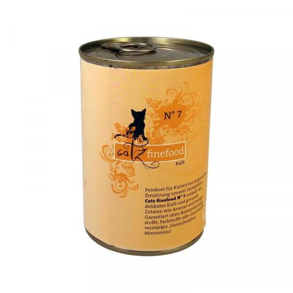 Catz finefood No. 7 Kalb 400g