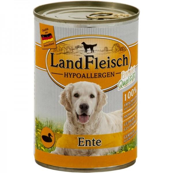 LandFleisch Dog Hypoallergen Ente 400g