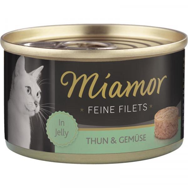 Miamor Dose Feine Filets Heller Thunfisch & Gemüse 100g