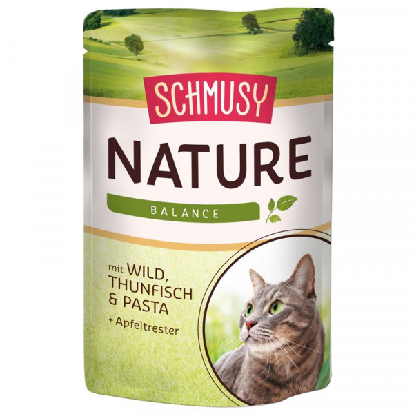 Schmusy Nature Balance FB Wild und Thunfisch 100g