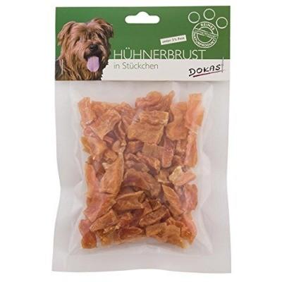 Dokas Hundesnack Hühnerbrustfilet in Stückchen 70g