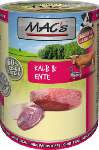 MACs Dog Kalb & Ente 400g