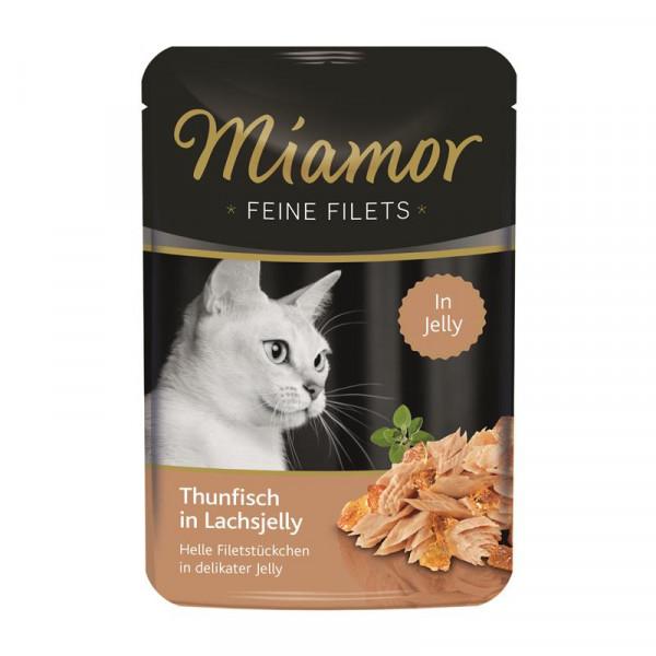Miamor FB Feine Filets Thunfisch in Lachsjelly 100g