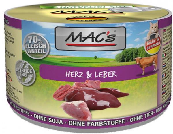 MACs Cat Herz & Leber 200g