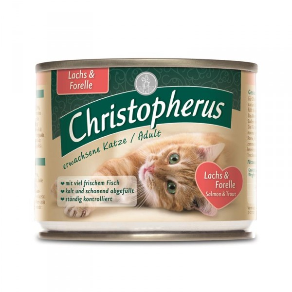 Christopherus Cat Dose Adult Lachs+ Forelle 200g