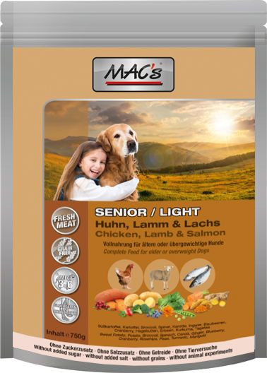 MACs Dog Senior / Light 750 g