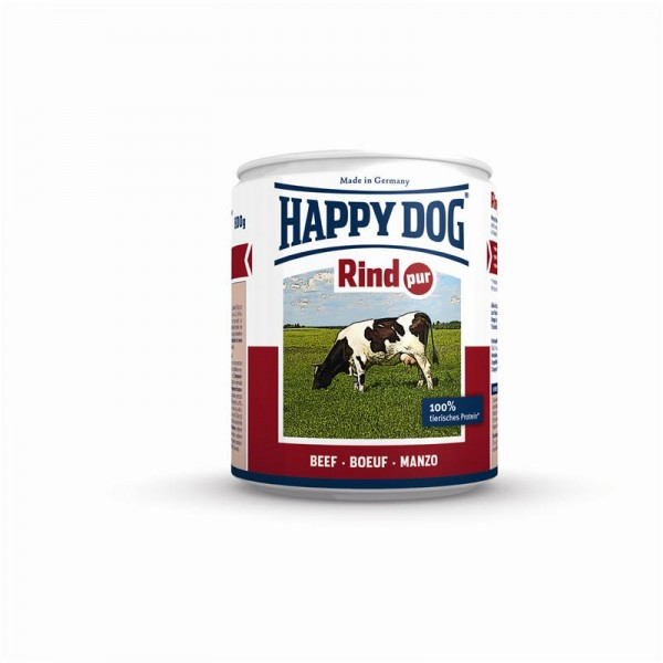 Happy Dog Dose Rind Pur 800g