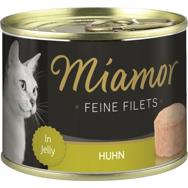 Miamor Feine Filets Huhn in Jelly 185g Dose